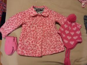 Girls Jacket set