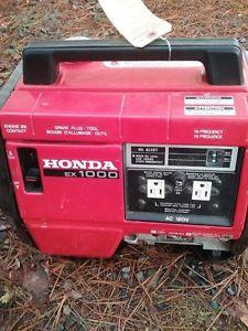 Honda EX100 Generator