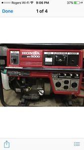 Honda Generator w