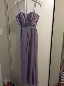 Lavender/grey dress