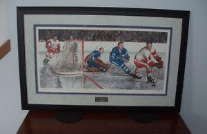 Limited Edition Hockey Framed Prints by Les Tait - Set of 3