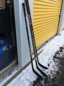 Lots of Hockey Sticks Starting at $10 each