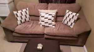 Love seat pull out couch