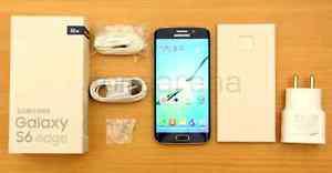 Samsung Galaxy s6 edge 32g(new w box and accessories)