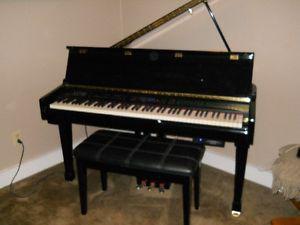 Suzuki Baby Grand piano digital