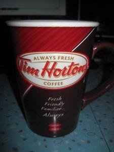 Tim Horton's Limited Edition Bilingual Coffee Mug - #/N