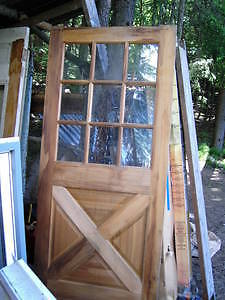 Wanted: WANTED: Wood door like this one. Can be a fixer