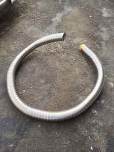 vortex stainless flex chimney liner 12ft 4inch