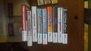 18 Nintendo ds games