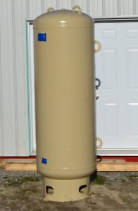 240 GALLON 300 PSIG COMPRESSED AIR RECEIVER TANK