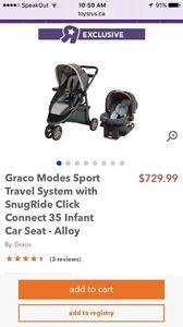 Brand new graco infant car seat alloy for sale