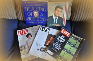 COLLECTION OF J.F.KENNEDY MEMORABILIA