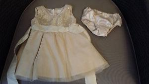 Childrens place Baby girls party dress sz 6-9 months