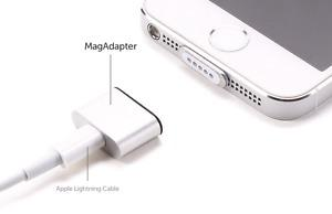 Magnetic charger cable, adapter for iphone