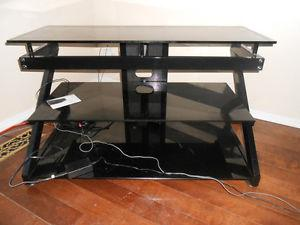 Moving sale!!!! TV table, bookcases, desk,utility dolly and