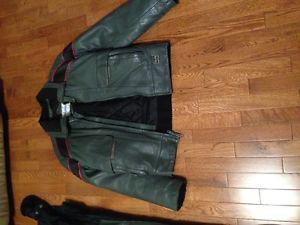 Polaris Leather Snow Suite