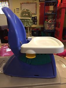 Reclining booster seat
