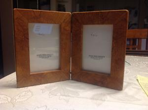Spalted Alder Double Picture Frame