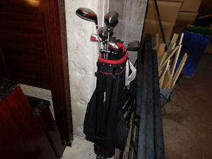 Wilson golf set! Used for 1 season only