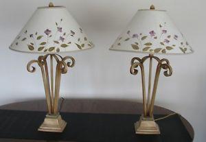 2 Designer Table/Nightstand Lamps