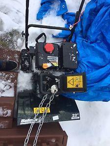 "22"" cut snow blower"