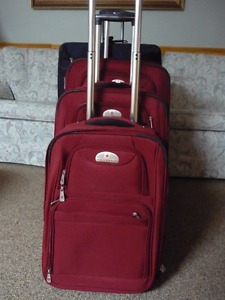 4 Piece Luggage (Air Canada &Samsonite)All Priced Different
