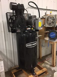 7.5HP 80 gallon air compressor