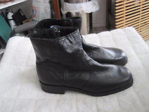 Brand New Inouk Men's Casual Dress Leather Winter Boots - 12
