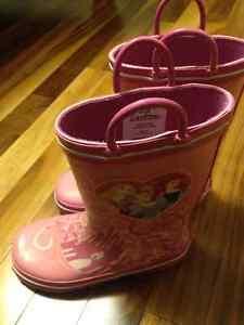 Disney Princess Rubber Boots Size 11