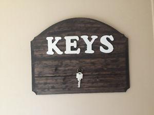Handmade Wall mount Key Holder