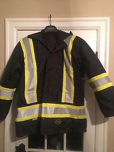 Hi Vis Safety Jacket Size Large