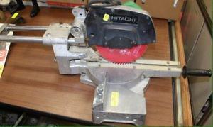"Hitachi 8-1/2"" sliding compound miter saw"