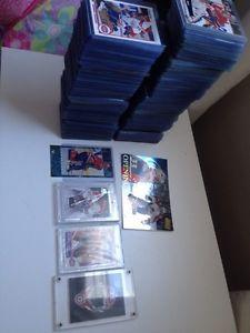 Hockey cards Patrick Roy,Felix potvin and mats sundin