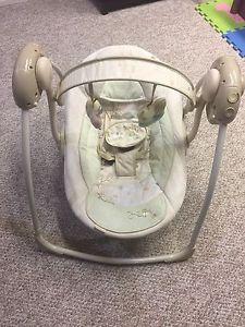 InGenuity Multi speed baby swing