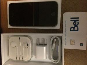Iphone 5s 16gb (black) Bell
