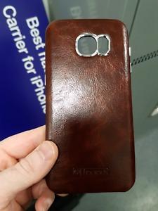 Leather S7 Edge Case