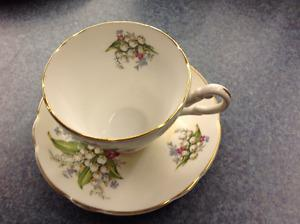 Regency Bone China England Cup And Saucer