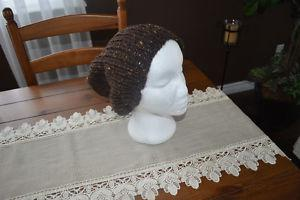 Slouchy caps and scarfs