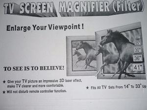 T.V. or Computer Magnity (for anyone that wants Larger