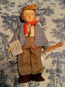 "Wanted: Hummel Porcelain Doll ""Birthday Serenade"""