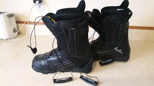 Womens Burton Emerald Snowboard Boots size 7.5