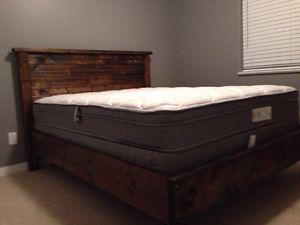 Wood Bed Frames and Headboards