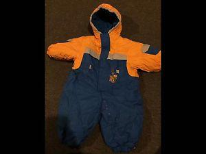 18 months 1 piece snow suit