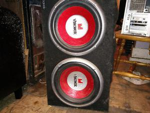 """2 12"""" Subs and a Amp for sale Possible Trade"""