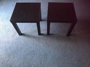 2 Side table $15 each