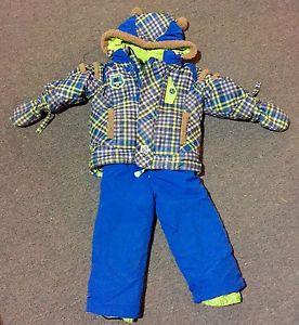 24 months boys snow suit
