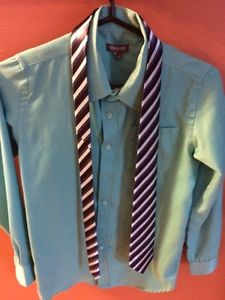 Boys size 12 shirts and tie