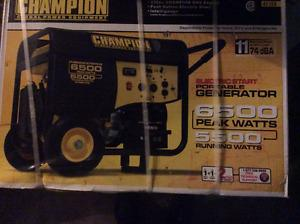 Brand new generator and never out of box