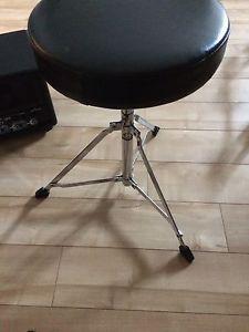 Drum throne. Drum seat