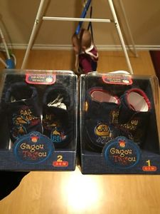 Gagou Tagou shoes size 1 and 2